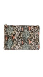 Oliveve Queenie Clutch Coral