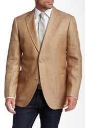 Kroon Brown Two Button Notch Lapel Sport Coat