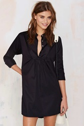 Nasty Gal Night Owl Shirt Dress
