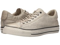 Converse Chuck Taylor All Star Vintage Slip Wash Bonded Linen Toast Sand Turtledove Lace Up Casual Shoes Beige
