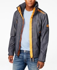 Superdry Men's Technical Wind Attacker Jacket Navy Marl