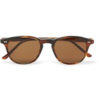 Illesteva Whitman D Frame Tortoiseshell Acetate Sunglasses Brown