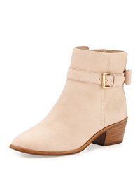 Taley Leather Bow Ankle Boot Pale Pink Kate Spade New York