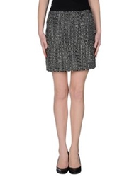 Jil Sander Navy Mini Skirts Grey