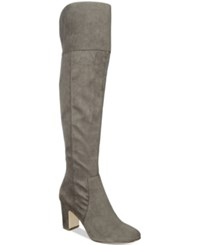 Alfani Women's Harrley Over The Knee Boots Only At Macy's Women's Shoes Steel