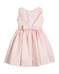Helena Sleeveless Satin Party Dress Pink