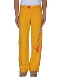 Messagerie Casual Pants Ocher