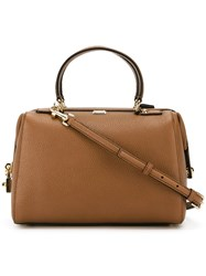 Dolce And Gabbana Padlock Doctor's Tote Bag Nude And Neutrals