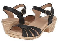 Dansko Marlow Black Full Grain Women's Sandals