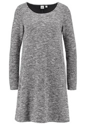 Gap Jumper Dress Space Dye Grey Marl