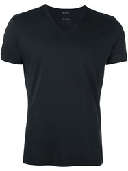 Marc Jacobs V Neck T Shirt Black