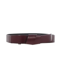 Hotel Particulier Belts Maroon