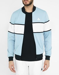 Le Coq Sportif Sky Blue Colour Block Track Jacket