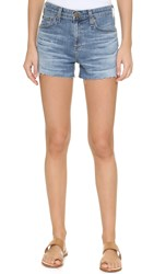 Ag Jeans The Sadie High Rise Shorts 13 Years Abyss Blue