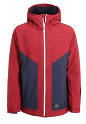 O'neill Galaxy Ii Ski Jacket Scooter Red Green
