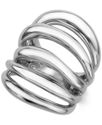 Nambe Multi Row Statement Ring In Sterling Silver Only At Macy's