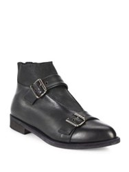 Ld Tuttle The Control Buckled Leather Ankle Boots Black