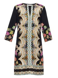 Etro Paisley Print Silk Tunic Dress