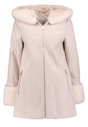 Miss Selfridge Short Coat Taupe Beige
