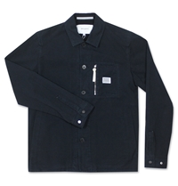 Norse Projects Kyle Dry Canvas Jacket Dark Navy Huh. Store