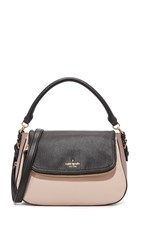 Kate Spade Deva Shoulder Bag Rose Cloud Black Porcini