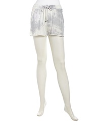 Stella And Jamie Pull On Cutout Jersey Shorts Tie