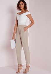 Missguided Utility Joggers Grey Grey