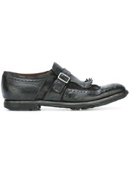 Church's Single Strap Monk Shoes Black