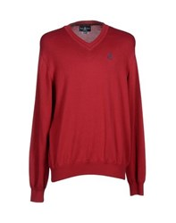 Psycho Bunny Knitwear Jumpers Men Red