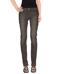 Love Moschino Denim Denim Trousers Women Lead