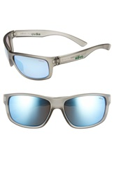 Revo 'Baseliner' 61Mm Polarized Sunglasses Crystal Grey Blue Water