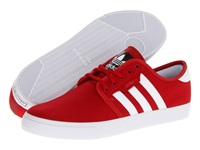 Seeley University Red White Black Canvas Men's Skate Shoes