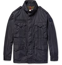 Moncler Danick Shell Field Jacket Blue