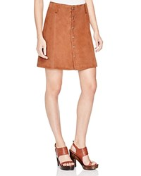 Sanctuary Anita Suede A Line Skirt Canyon