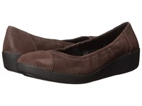 Fitflop F Pop Ballerina Opul Chocolate Women's Shoes Brown