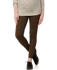 A Pea In The Pod Maternity Skinny Leg Pants Olive