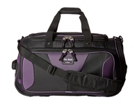 Travelpro Tpro Bold 2.0 22 Expandable Duffel Bag Black Purple Duffel Bags Multi