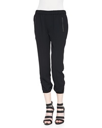 Joie Charlet Zipper Cuff Jogger Pants