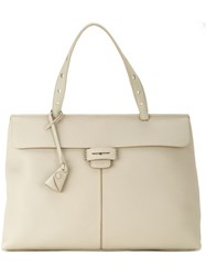 Myriam Schaefer 'Lord' Tote Bag Nude And Neutrals