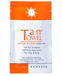 Receive A Free Classic Towlette With 25 Tantowel Purchase