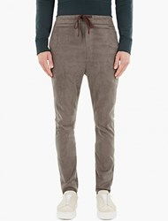 Cmmn Swdn Grey Stray Woven Trousers