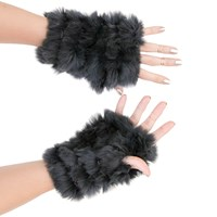 Jocelyn Fingerless Mittens Hunter