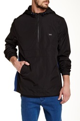 Barney Cools Pullover Spray Jacket Black