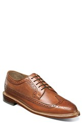 Florsheim Men's 'Heritage' Wingtip Cognac Leather