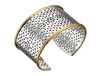 Lucky Brand Abstract Openwork Cuff Bracelet Two Tone Bracelet Metallic