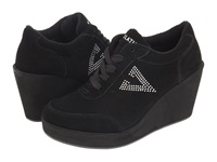 Volatile Cash Black Women's Wedge Shoes