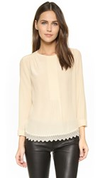 Zadig And Voltaire Tranoi Blouse Ecru