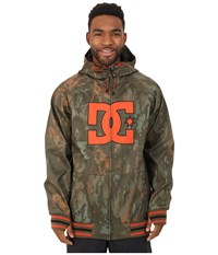 Dc Spectrum Snow Jacket Camo Lodge Men's Coat Brown