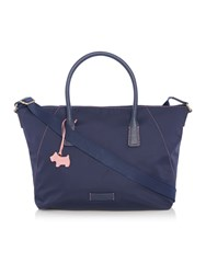 Radley Dapple Dop Navy Large Crossbody Bag Navy