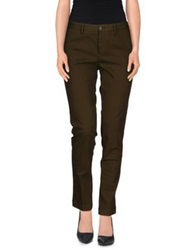 Pt0w Casual Pants Military Green